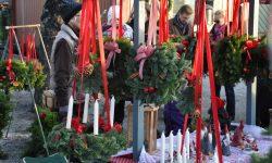 Parada del mercado navidad de Sigtuna Foto: destinationsigtuna.se