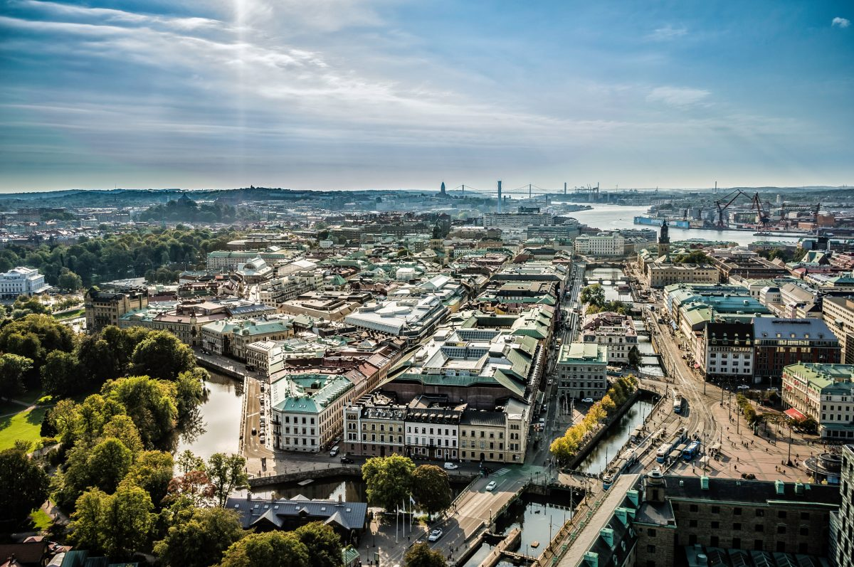 Panorama view of Gothenburg <br /> Photo: Per Pixel Petersson / imagebank.sweden.se