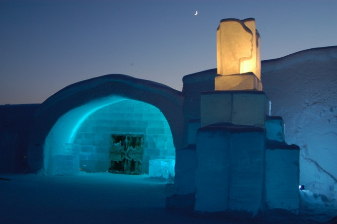 ICEHOTEL de Jukkasjärvi, foto: Peter Grant/imagebank.sweden.se