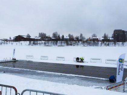 Piscina de hielo en Skellefteå - Foto: Israel Úbeda / sweetsweden.com