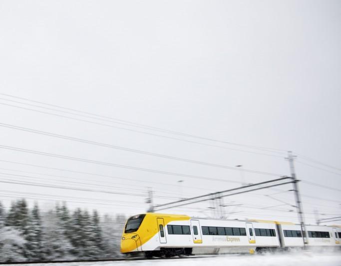 El tren rápido Arlanda Express a Estocolmo <br> Foto: Patrick Johansson