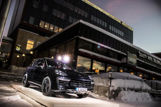 Porsche presentará el Cayenne en Skellefteå - Laponia sueca