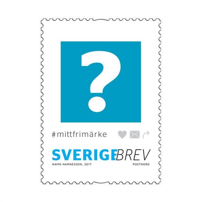 Concurso de sellos en Suecia #mittfrimärke