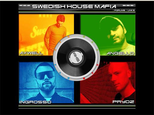 Los cuatro miembros de la Swedish House Mafia