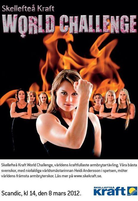 Imagen promocional del Skellefteå Kraft World Challenge