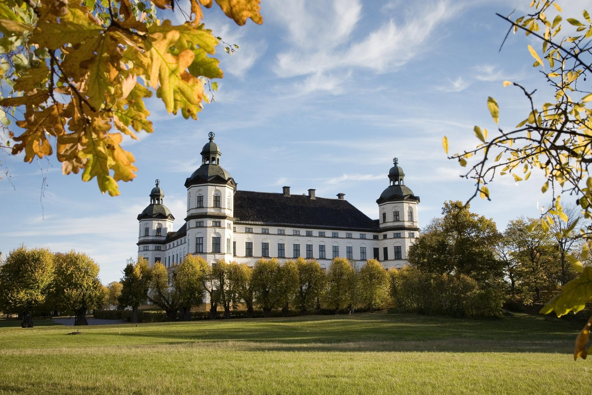 Skoklosters Slott en otoño <br> Foto: Jens Mohr