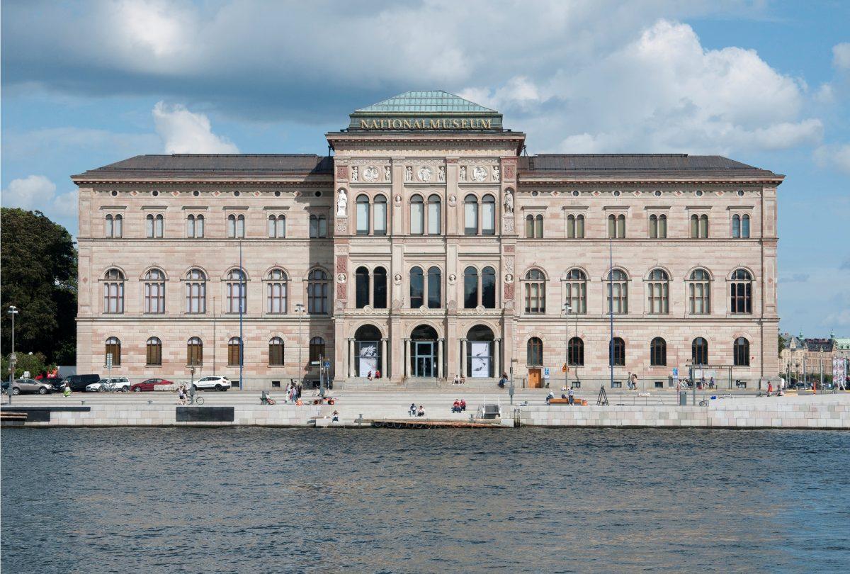El Museo Nacional de Suecia en Estocolmo <br> Foto: Hans Thorwid/Nationalmuseum