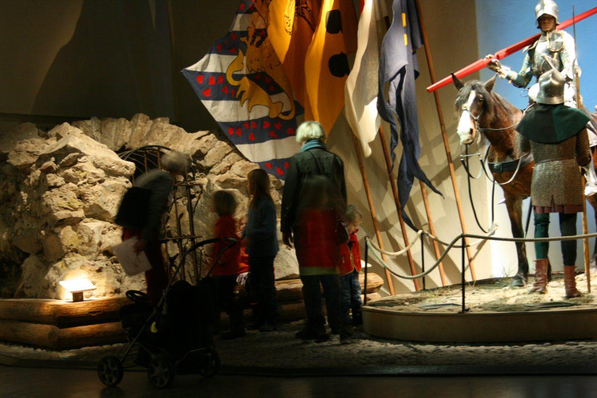 Reproducción de un soldado del medievo <br> Foto: Medeltidsmuseet en Estocolmo