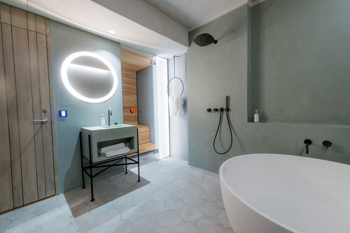 Habitación de relajación en el hotel de hielo ICEHOTEL 365 <br> Foto: Asaf Kliger
