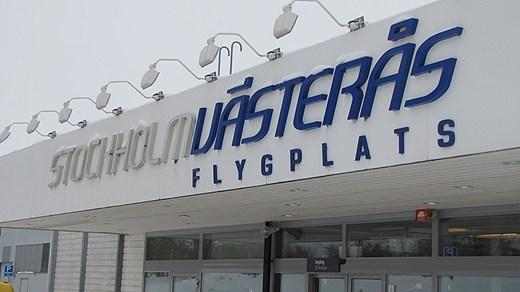 Aeropuerto Estocolmo-Västerås, foto: Ida Nilsson / SR