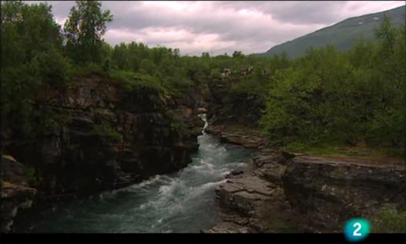 Imágenes del vídeo de Suecia en Paraísos Cercanos de la 2 de TVE