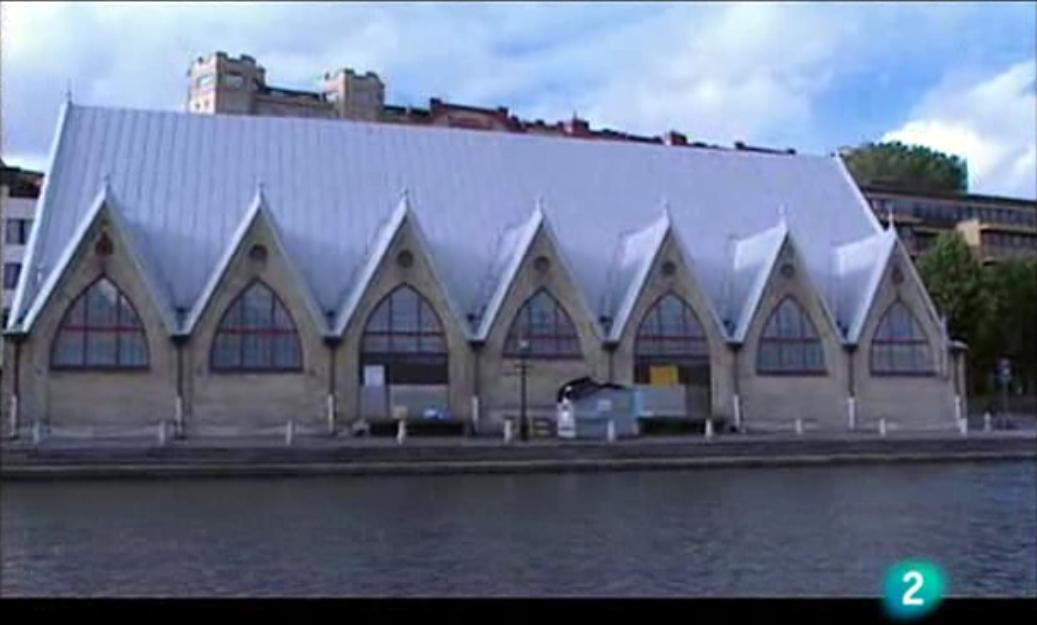 La Iglesia del Pescado, Feskekörka en Gotemburgo
