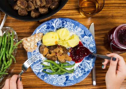 Albóndicas suecas Foto: Susanne Walström / imagebank.sweden.se