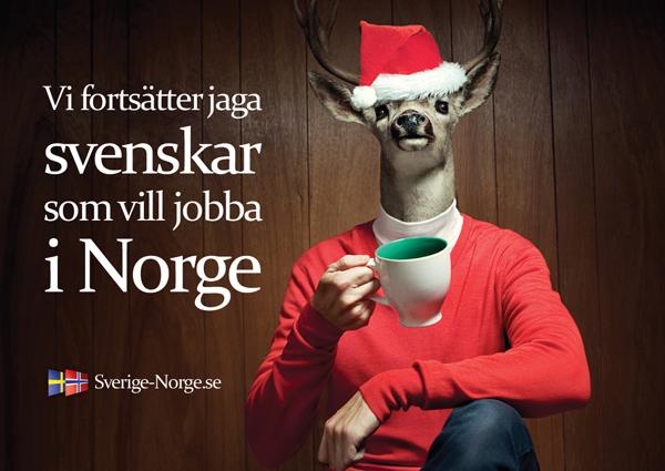 Seguimos a la caza de suecos que quieran trabajar en Noruega <br> Foto: sverige-norge.se