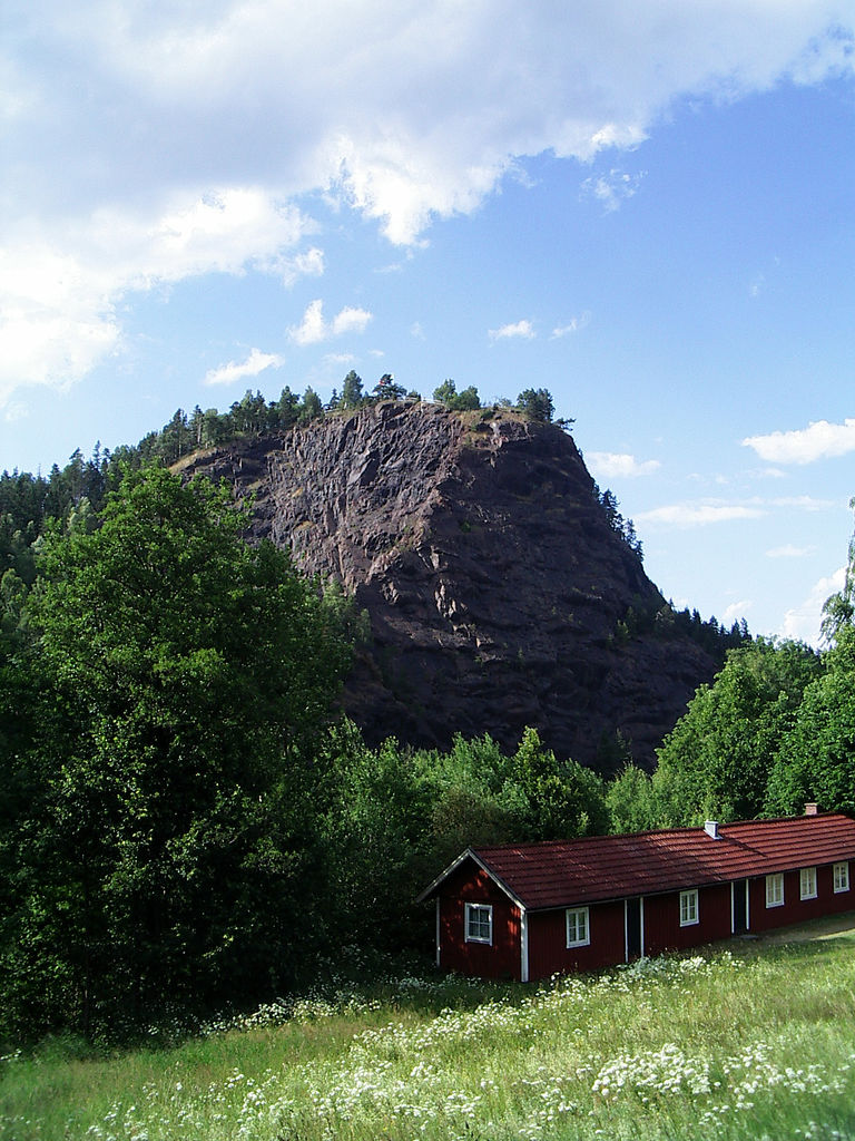 Monte Taberg al sur de Jönköping en Småland, Suecia