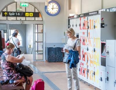 Dónde hay taquillas para dejar las maletas en Estocolmo