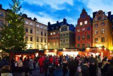Mercado de Navidad de Gamla Stan, Estocolmo Foto: Ulf Lundin / imagebank.sweden.se