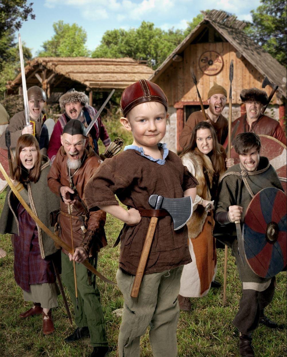 El poblado vikingo de Storholmen