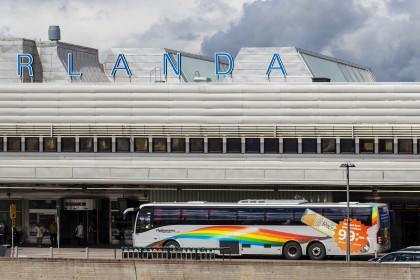 Flygbussarna, buses del aeropuerto de Arlanda a Estocolmo - Foto: Gustaf Brundin