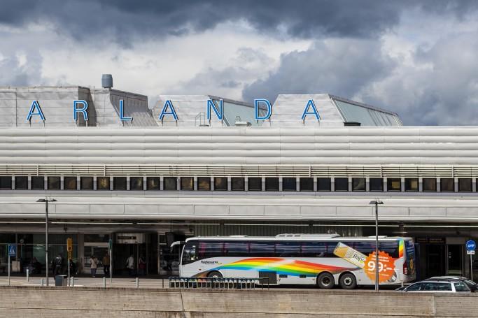 Flygbussarna, buses del aeropuerto de Arlanda a Estocolmo <br> Foto: Gustaf Brundin