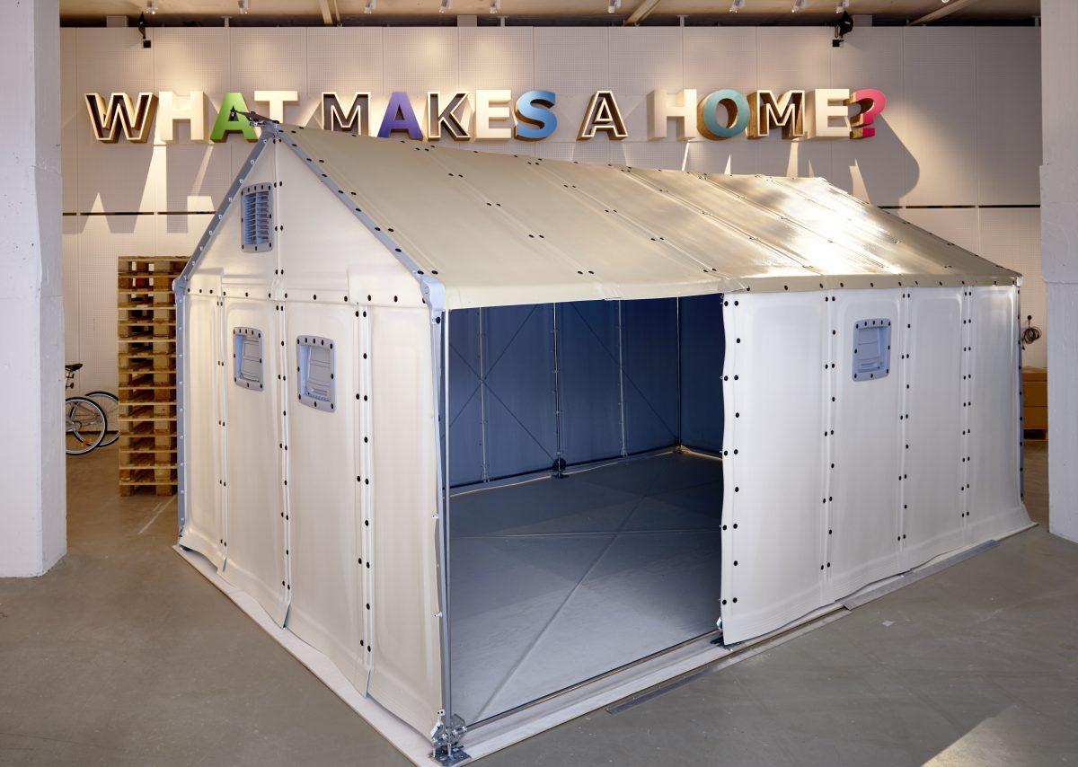 """""""Qué es lo que hace a un hogar?"""" la exposición temporal del Museo IKEA <br> Foto: © Inter IKEA Systems B.V. 2016"""