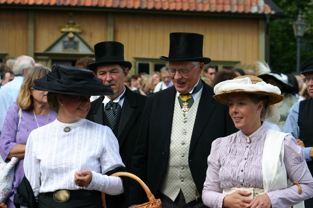 Sigtuna Möte, a 1912-styled market at the end of August <br /> Photo: Krister Fransson / destination sigtuna